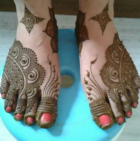 Top 121 Simple Mehndi Designs for girls in india 2019