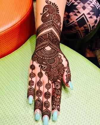 Mehndi Design For Teej