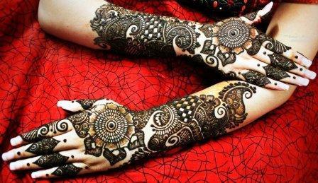 Mehndi Design For Teej