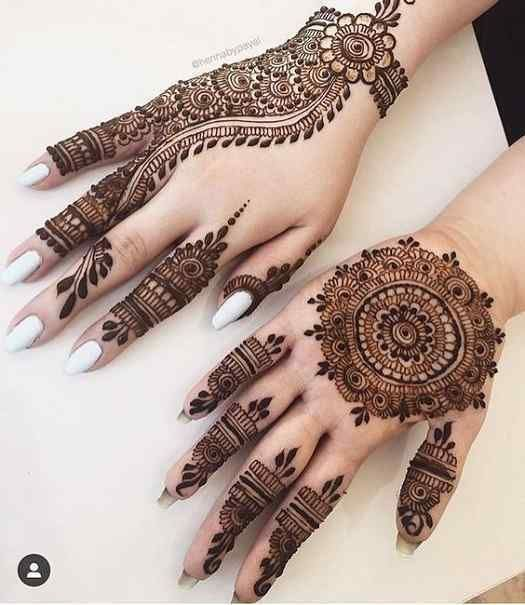 Mehndi Design For Karva Chauth